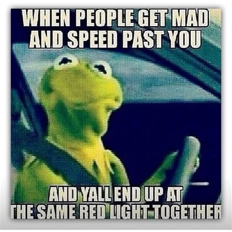 Kermit The Frog Meme Driving - anaconda meme kermit