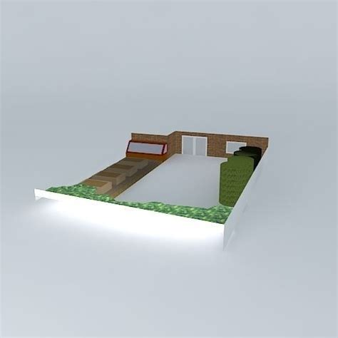 stl beds simple garden design with raised beds free 3d model max