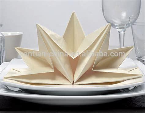 Pre Folded Paper Napkins - shape silver pre folded napkin pre fold paper