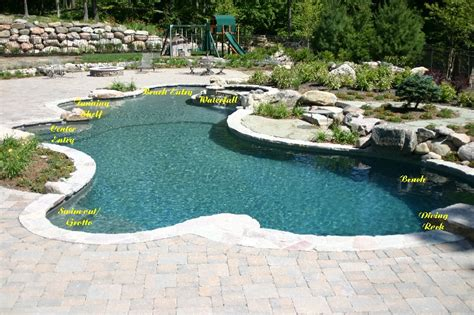 inground pool ideas inground pool designs casual cottage