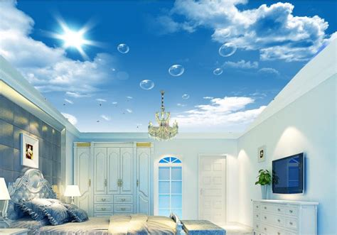 ceiling wallpaper top sky blue ceiling wallpapers