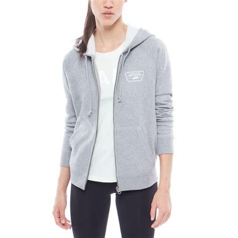 Sweater Reglans Vans patch raglan zip hoodie vans official store