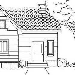 Desenho De Casas Desenhos De Casas Colouring Pages