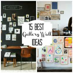 Wall Ideas by 15 Gorgeous Gallery Wall Ideas