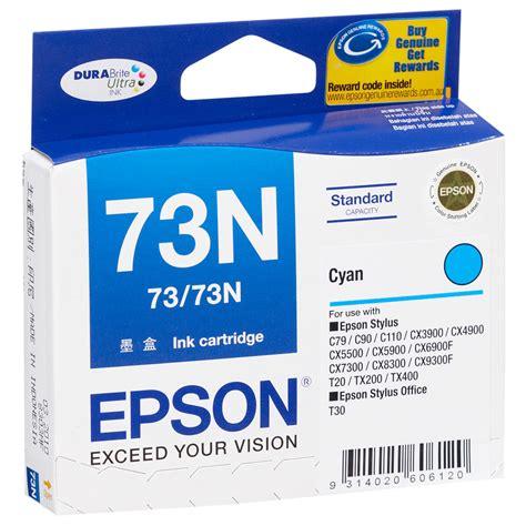 Tinta Epson 85n Cyan Ready jual tinta epson 73 73n cyan original harga spesifikasi