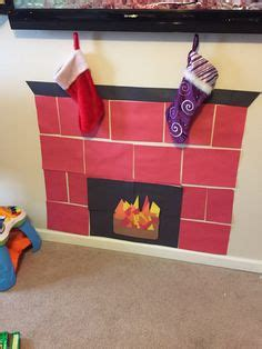 How To Make A Chimney Out Of Paper - grab some construction paper shipping paper tissue paper