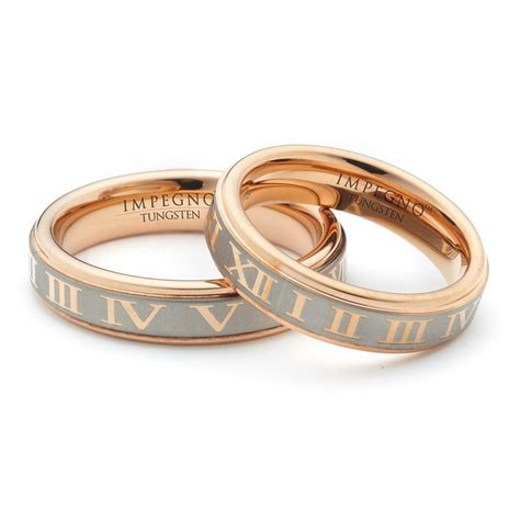 6mm matching his and hers wedding promise rings gold