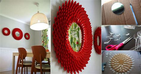 8 ideas to use a round mirror in a large living room diy mirror frame tips and tricks for beautiful decoration