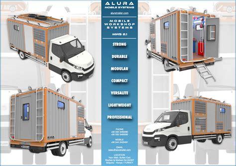 mobile workshop mobile workshop trucks alura trailer