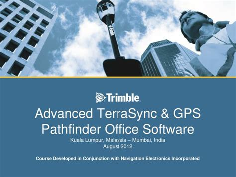 Gps Pathfinder Office by Ppt Trimble Navigation Contacts Powerpoint Presentation