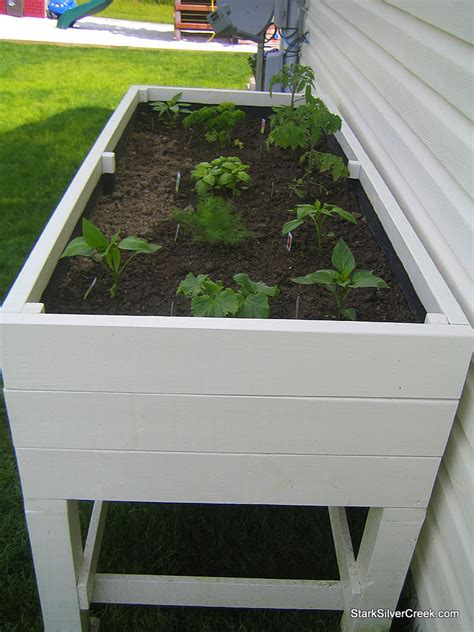 Vegetable Planters Plans by All S Vegetable Garden Planter Box How To Guide And Fresh Tomato Recipe Stark Insider
