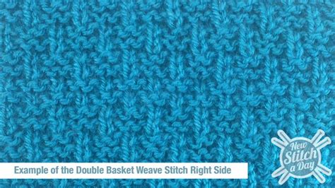 how to knit basket stitch the basket weave stitch knitting stitch 127