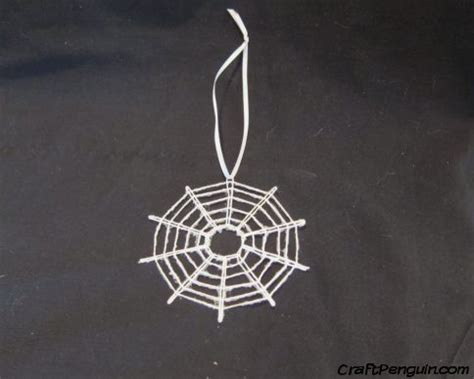 spider web christmas ornament craftpenguin com