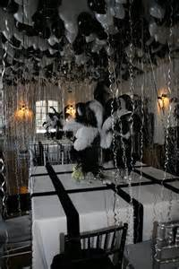 Black And White Themed Party Decorations - ober onet amp associates truman capote black and white themed party