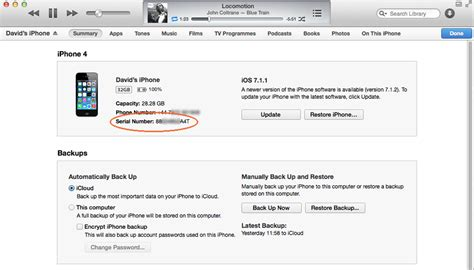 How To Find Of I How To Find Out Your Iphone Or Udid Macworld Uk