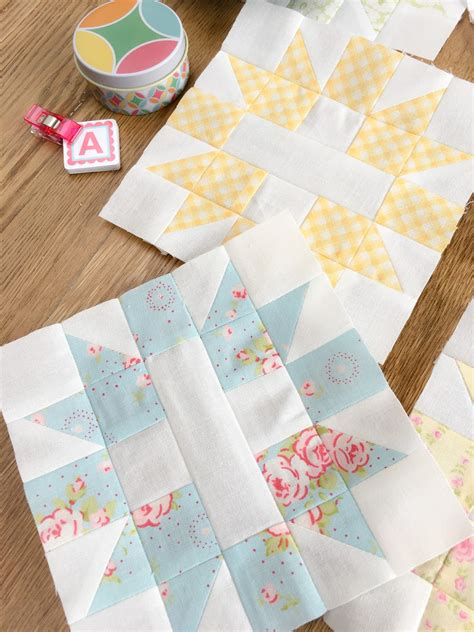 Patchwork Shops - carried away quilting april cross blocks
