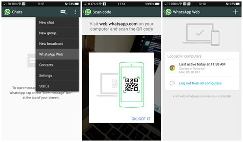 whatsapp android whatsapp is now accessible from the web for android users chrome web browser only