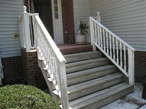 Front Staircase Design Front Porch Front Porch Design Idea With Gray Siding Wall Combine With Brick Floor And White