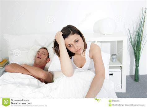 sucked to his death in bed to his in bed incompatibility in bed stock photo image