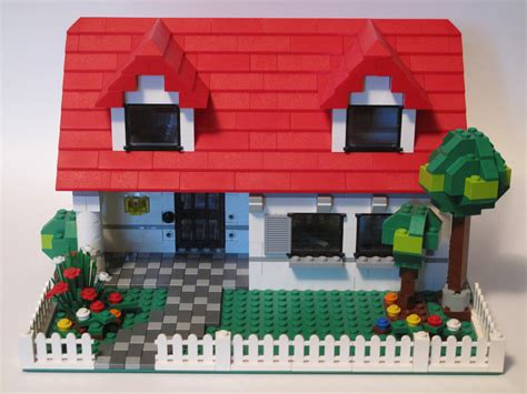 Lego House   This house was modified from 4886 Building