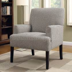 Houndstooth Accent Chair by Houndstooth Patterned Accent Chair Coaster Furniture