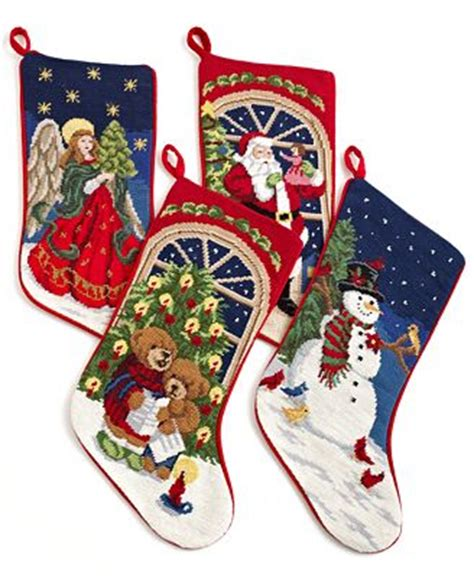 needlepoint patterns for christmas stockings holiday lane christmas stocking needlepoint patterns