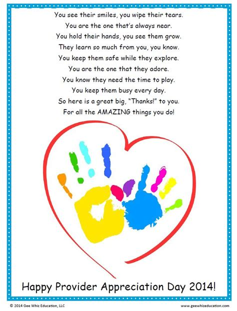 appreciation letter to daycare provider 25 best ideas about daycare provider gifts on