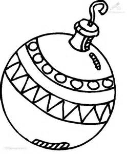 Bauble colouring pages