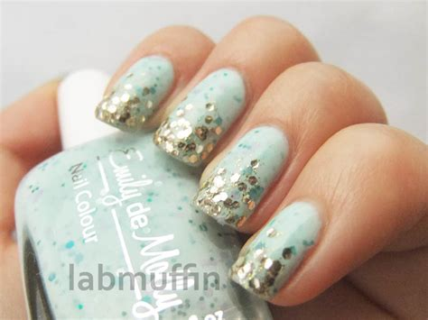 nail art tutorial how to create a glitter gradient using nail art tutorial how to create a glitter gradient using
