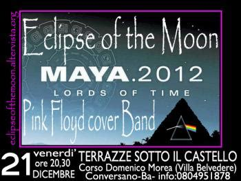 le terrazze conversano eclipse of the moon pink floyd cover band live