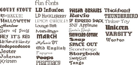 Expressions Home Decor by Simply Beautiful Fun Fonts