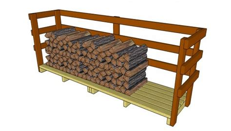 build firewood rack pallets 9 free firewood storage shed plans free garden plans how to build garden projects