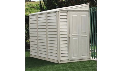 4x8 Vinyl Shed by 4x8 Vinyl Sidemate Shed With Foundation Frame Kit