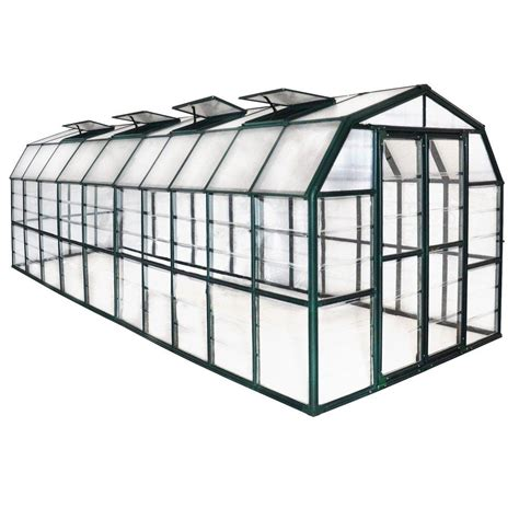 rion grand gardener clear 8 ft x 20 ft greenhouse 702495
