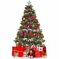 christmas tree and presents standee walmart com