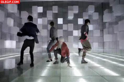 tutorial dance super junior gif los chicos de super junior en plena coreograf 237 a gif