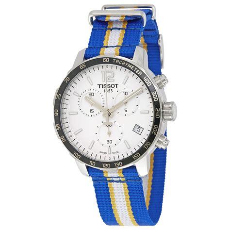 Tissot Quickster T095 tissot t095 417 17 037 15 quickster mens chronograph