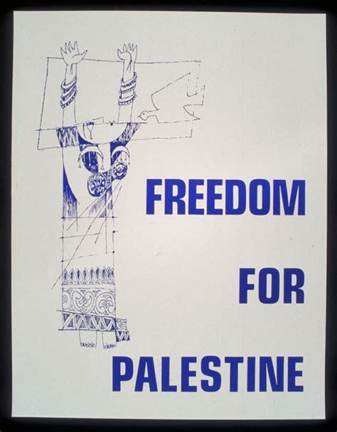 Freedom For Palestine by Freedom For Palestine The Palestine Poster Project Archives