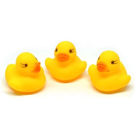 Mainan Bebek Yellow baby water floating duck mainan bebek yellow