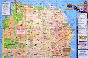 Map Of Downtown San Francisco by Squeezing San Francisco Andy Woodruff