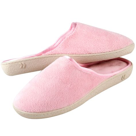 Pillow Slippers by Isotoner Pillow Step Clog Clothing Shoes Jewelry