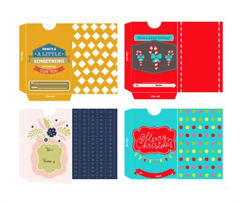 Gift Card Envelope Template by 10 Gift Card Envelope Sles Sle Templates