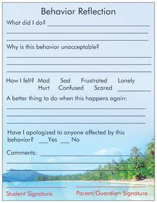 Behavior Modification Journal Pdf by Anger Kit Behavior Reflection The Healing Path