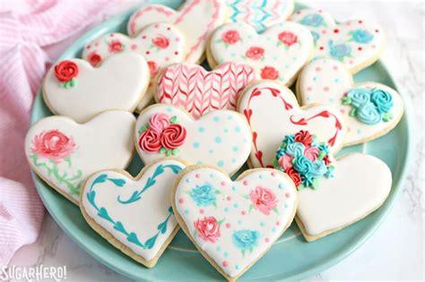 valentines decorated cookies s day sugar cookies sugarhero