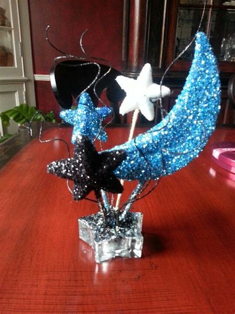 quinceanera themes moons and stars moon and stars table centerpiece dancing in the