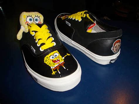Vans Era For 02 pharrell x spongebob x vans era custom sneakernews
