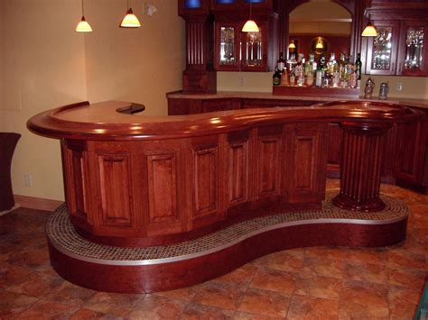 Kitchen Design L Shape by Milwaukee Woodwork Custom Home Bars