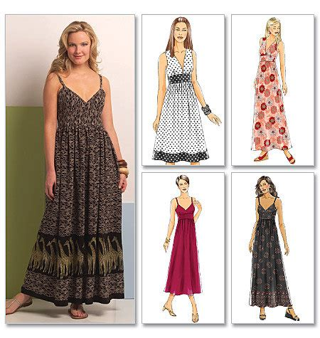 pattern simple maxi dress easy maxi dress sewing pattern butterick b5181 long and