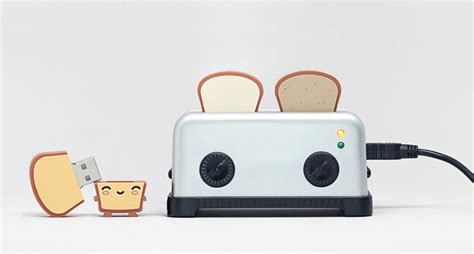 Buttered Bread In Toaster Shut Up And Take My Money Usb Toaster Hub And Toast Flash