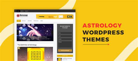wordpress themes free or paid 5 astrology wordpress themes free and paid formget